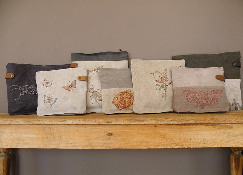 Selbstgemachte Vintage Taschen von Susanne Vogelmann Handwerk aus Schwäbisch Gmünd