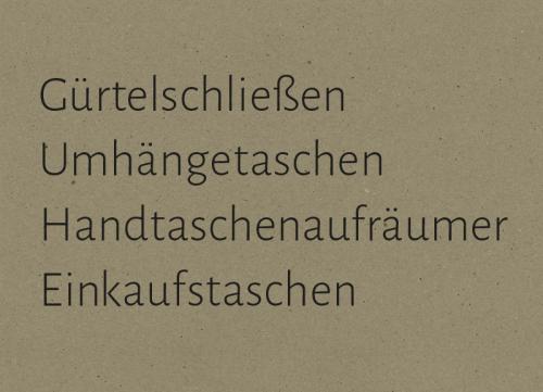 Eine Übersicht der Produkte von Susanne Vogelmann Handwerk in Schwäbisch Gmünd